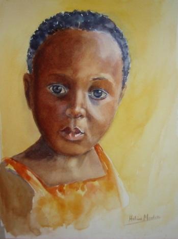 petite africaine