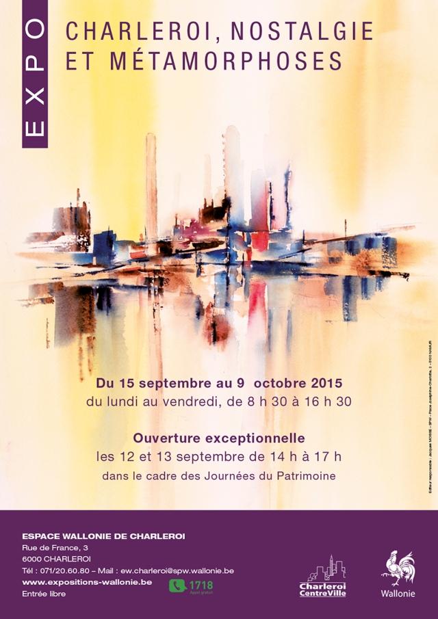 VANHAM Claudette documents - exposition 2015