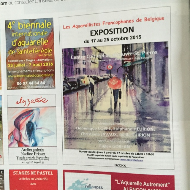 PRATIQUE DES ARTS SEPT 2015