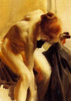 Oeuvre de Anders Zorn (1860-1920)